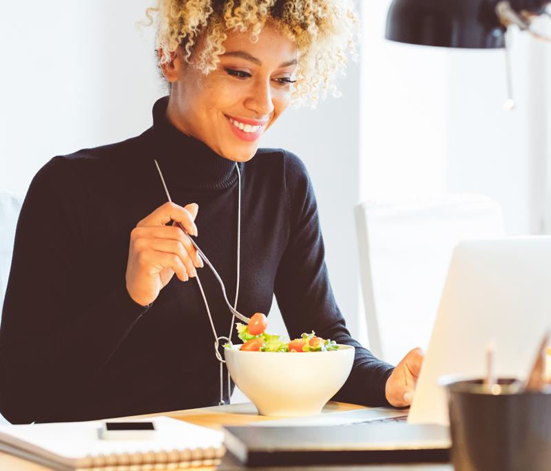 Lunch gezond op je werk